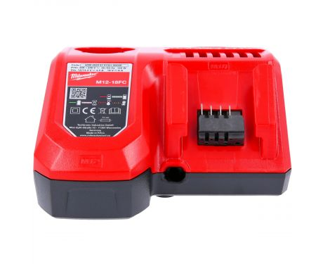 Milwaukee M12-18FC 12-18V Rapid Fast Charger For M12 & M18 Batteries