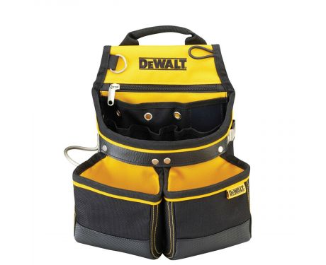 DeWalt DWST1-75650 Heavy Duty Hammer and Nail Tool Belt Pouch With Hammer Loop