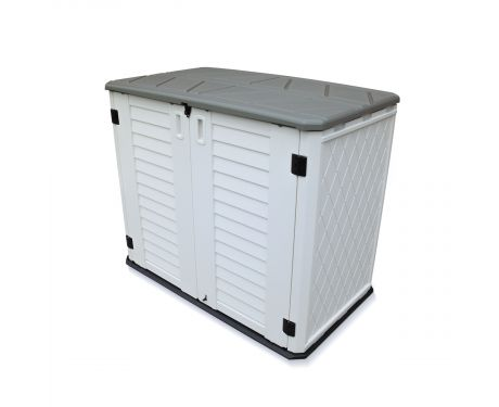 Storage Shed Waterproof Secure 730L Easy Access - 730-litre TM-GSB730