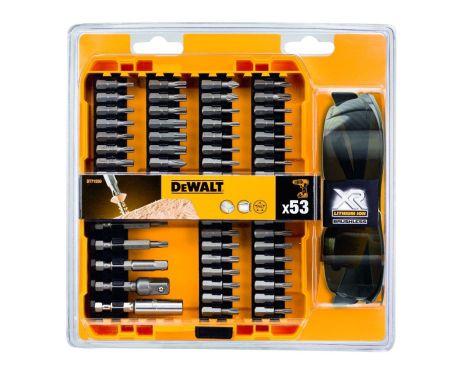 DeWalt DT71550-QZ 53 Piece Screwdriver Bit Set & Glasses