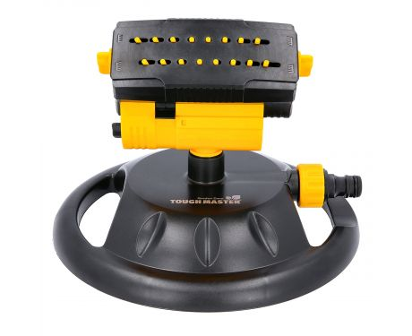 TOUGH MASTER Oscillating Lawn Sprinkler 170m² Coverage Garden Watering System Flow with 16 Nozzles